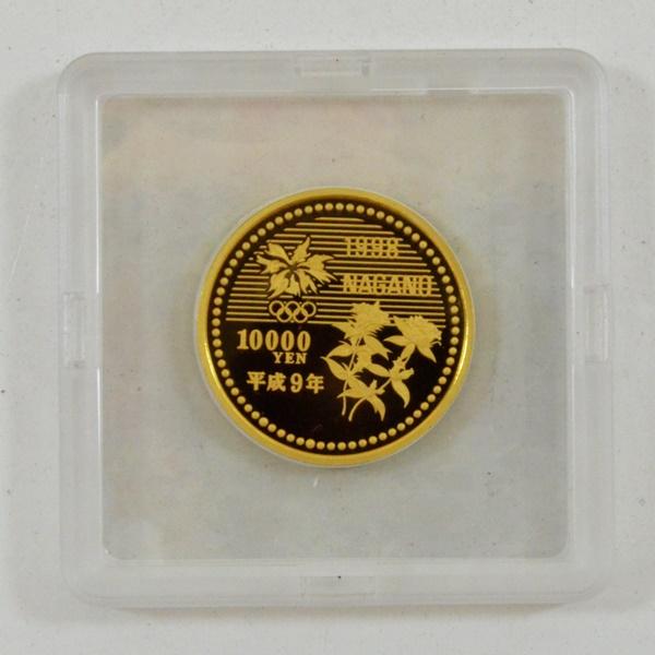 長野オリンピック金貨1.JPG